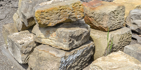 Sandstone Barn Stone And You The Rock Pile Garden Center