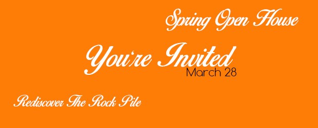 Spring Open House March 28th