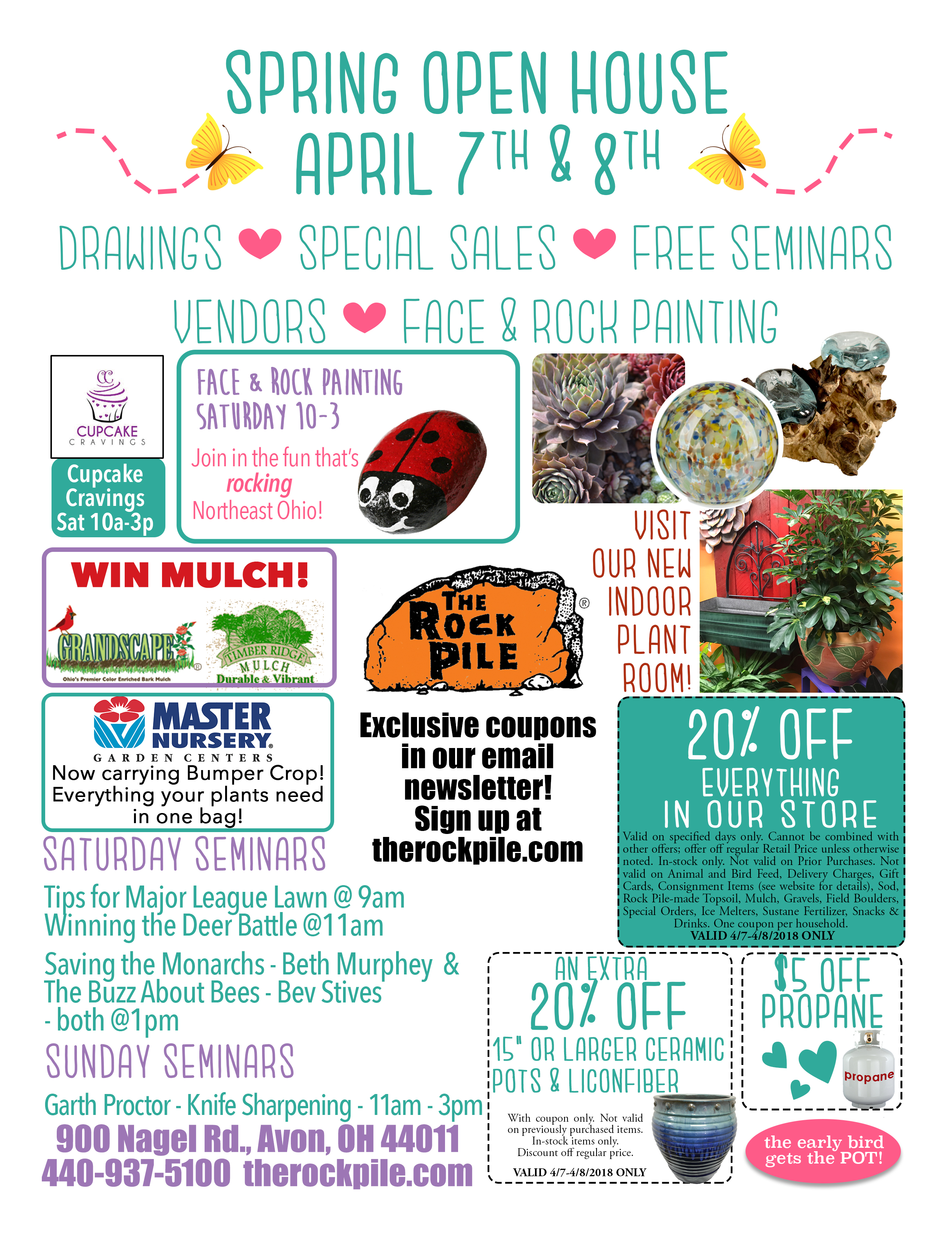 Spring Open House Sara From Sincerly Sara D: Spring-open-house-flyer-color